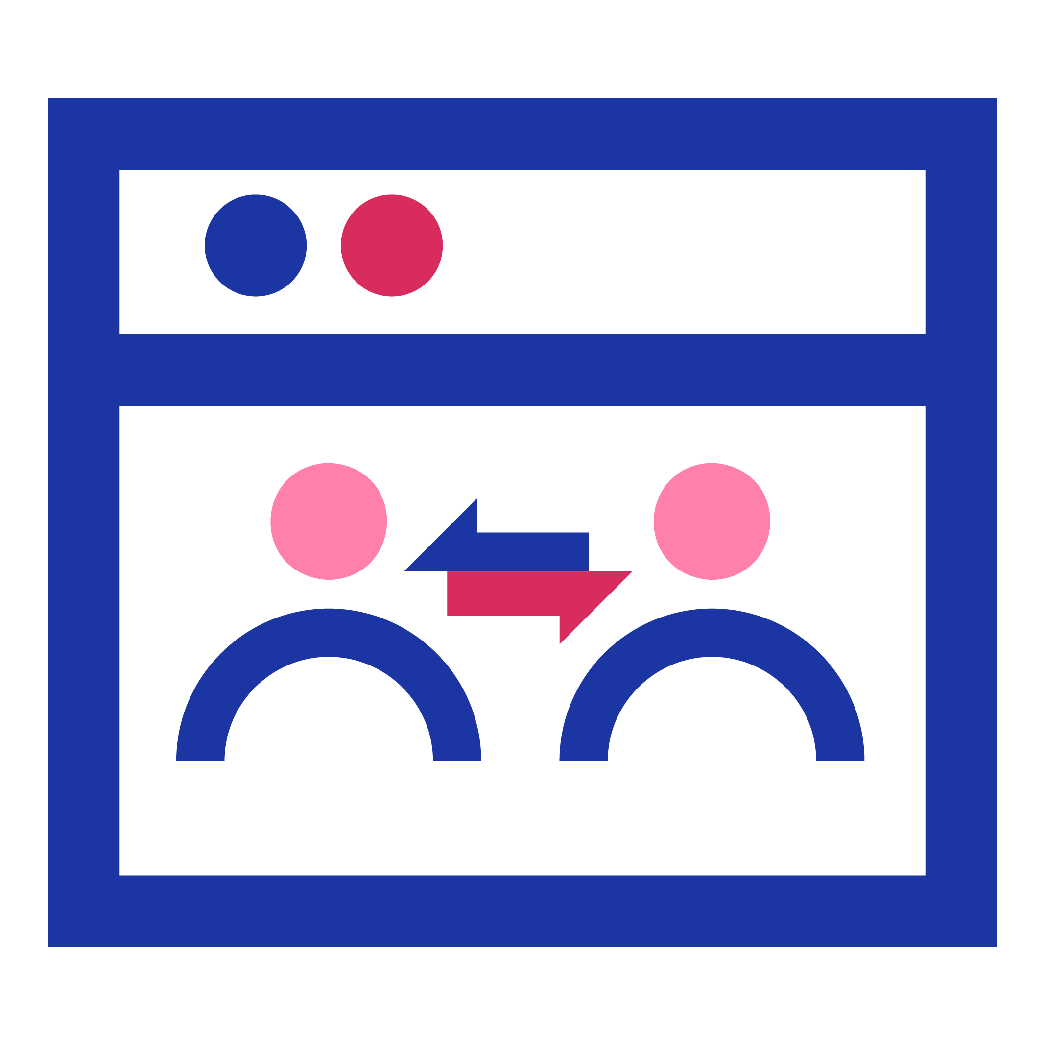 Icon Automatisierte digitale Kommunikation